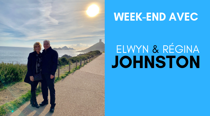 Week end avec Elwyn et Regina Johnston